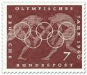 Briefmarke: Ringer (Olympisches Jahr 1960)