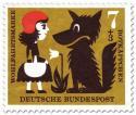 Rotkäppchen mit dem Wolf (und Blume)