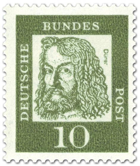 Briefmarke: Albrecht Dürer (Künstler, Maler)
