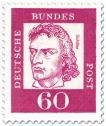 Briefmarke: Friedrich Schiller (Dichter, Dramatiker)