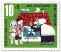 Briefmarke: Hänsel und Gretel bei der Hexe
