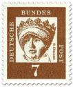 Briefmarke: Hlg. Elisabeth von Thüringen (Landgräfin)