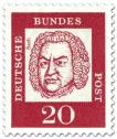 Briefmarke: Johann Sebastian Bach (Komponist)