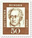 Briefmarke: Johann Wolfgang von Goethe (Dichter, Denker)