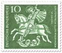 Briefmarke: St. Georg (Schutzparton der Pfadfinder)