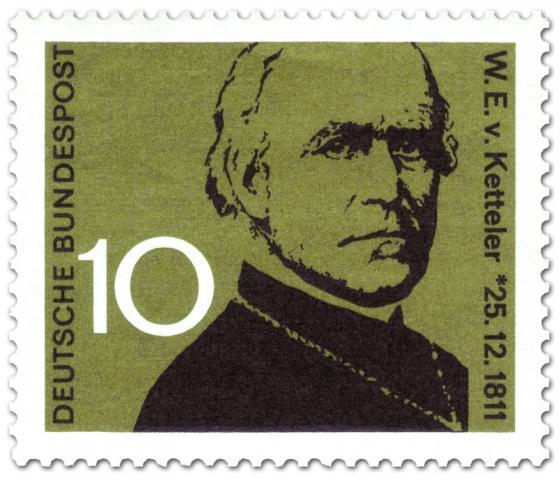 Briefmarke: Wilhelm Emmanuel von Ketteler (Bischof, Abgeordneter)