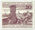 Briefmarke: Drususstein in Mainz (2000 Jahr Feier)