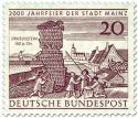 Briefmarke: Drususstein in Mainz (2000 Jahr Feier)