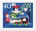 Briefmarke: Prinz an Schneewitchens Glassarg
