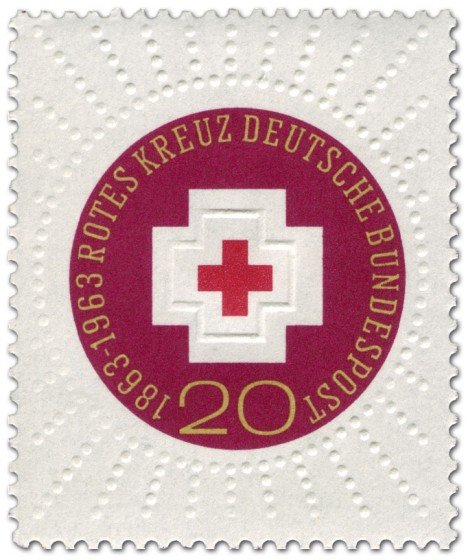 Briefmarke: 100 Jahre Internationales Rotes Kreuz