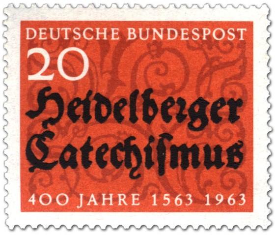 Briefmarke: 400 Jahre Heidelberger Katechismus