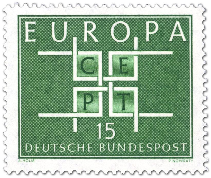 Europamarke 1963 Cept 15 Briefmarke 1963