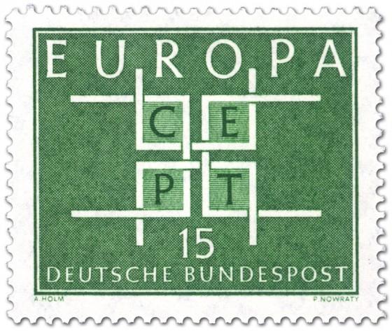 Briefmarke: Europamarke 1963 Cept 15