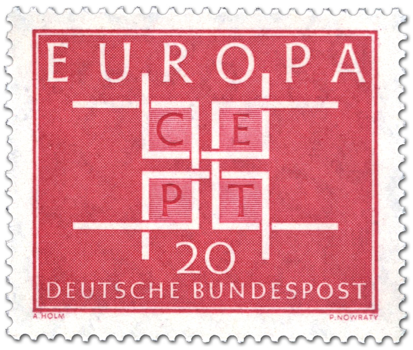 Europamarke 1963 Cept 20 Briefmarke 1963