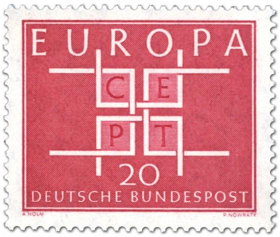 Briefmarke: Europamarke 1963 - Cept 20