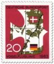 Briefmarke: Vogelfluglinie 1963 (Vogel)