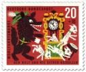 Briefmarke: Der Wolf jagt die sieben Geißlein