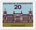 Briefmarke: Berlin Reichstag