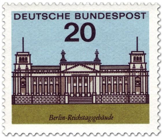 Berlin (Reichstag), Briefmarke