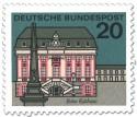 Briefmarke: Bonn Rathaus