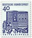 Briefmarke: Burg Trifels / Pfalz