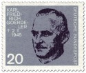 Briefmarke: Carl Friedrich Goerdeler