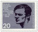 Briefmarke: Claus Schenk Graf von Stauffenberg