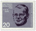 Briefmarke: Dietrich Bonhoeffer