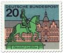Briefmarke: Düsseldorf: Jan Wellem Reiterdenkmal