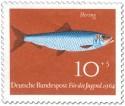 Briefmarke: Fisch: Hering (Clupea Harengus)