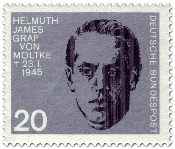 Briefmarke: Helmuth James Graf von Moltke