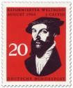 Briefmarke: Johannes Calvin (Tagung des Reformierten Weltbundes)