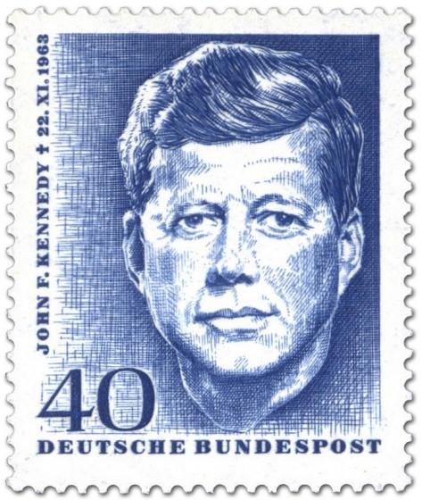 Briefmarke: John F. Kennedy (1. Todestag)