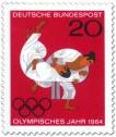 Briefmarke: Judo - Olympische Sommerspiele Tokio