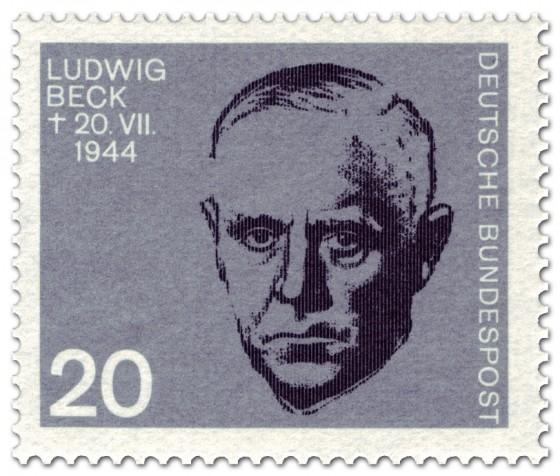 Briefmarke: Ludwig Beck