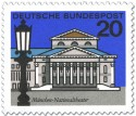 Briefmarke: München Nationaltheater