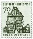 Briefmarke: Osthofentor Soest / Westfalen