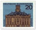 Briefmarke: Saarbrücken Ludwigskirche