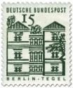 Briefmarke: Schloss Tegel, Berlin