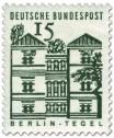 Briefmarke: Schloss Tegel, Berlin