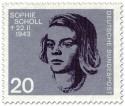 Briefmarke: Sophie Scholl