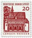 Briefmarke: Torhalle Lorsch / Hessen