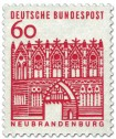Briefmarke: Treptower Tor / Neubrandenburg