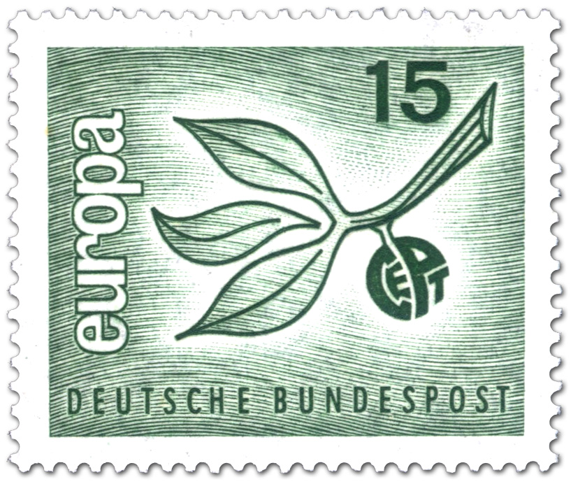 Europamarke 1965 Zweig Mit Blättern Briefmarke 1965