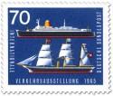 Briefmarke: Segelschiff Hammonia Passagierschiff Bremen