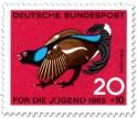 Briefmarke: Vogel: Birkhahn (Lyrurus Tetrix)