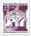 Briefmarke: Bürgerhalle im Rathaus zu Löwenberg (Schlesien)