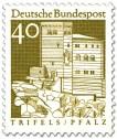 Briefmarke: Burg Triefels (Pfalz)