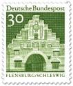Briefmarke Nordertor Flensburg