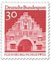 Nordertor Flensburg, Schleswig (Rot)
